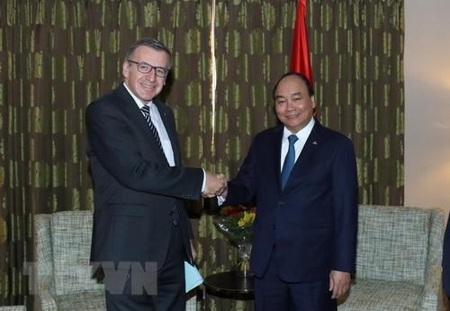 Thủ tướng Nguyễn Xuân Phúc tiếp nguyên Bộ trưởng Ngoại giao Bỉ - ảnh 1
