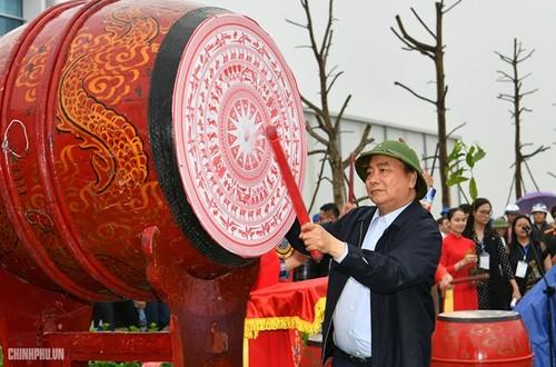 Thủ tướng Nguyễn Xuân Phúc phát động Tết trồng cây tại Nghệ An - ảnh 1