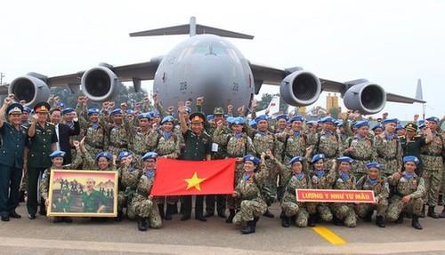 Chuẩn bị nguồn nhân lực tiếp tục tham gia lực lượng gìn giữ hòa bình Liên hợp quốc - ảnh 1
