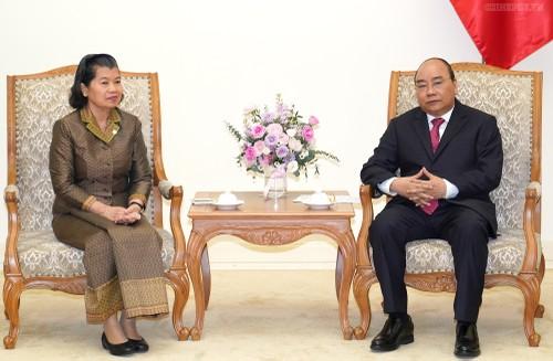Tiếp tục thúc đẩy quan hệ hữu nghị Việt Nam - Campuchia cùng hợp tác, cùng phát triển thịnh vượng  - ảnh 1