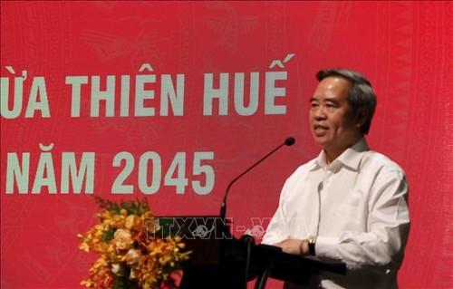 Phát triển Thừa Thiên Huế theo hướng thành phố di sản trực thuộc Trung ương  - ảnh 1