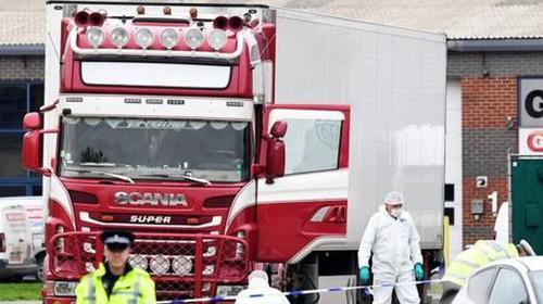 Vụ 39 thi thể trong xe tải ở Anh:VN phối hợp các cơ quan chức năng Anh đẩy nhanh công tác xác minh quốc tịch, danh tính - ảnh 1