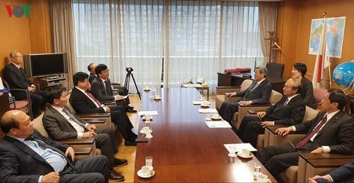 Tổng Giám đốc VOV Nguyễn Thế Kỷ hội đàm với lãnh đạo Đảng cầm quyền LDP Nhật Bản - ảnh 1