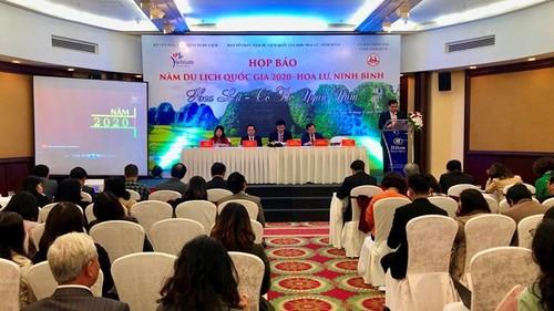 """Công bố """"Năm Du lịch quốc gia 2020 - Hoa Lư, Ninh Bình"""" - ảnh 1"""