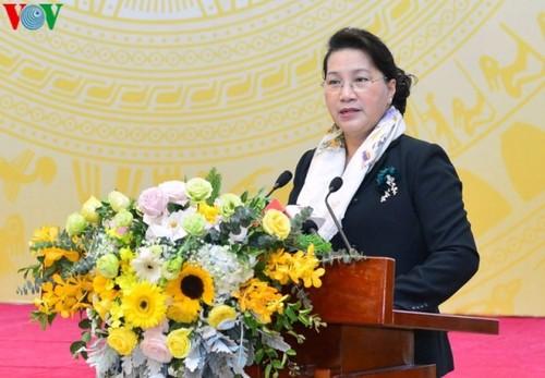 Chủ tịch Quốc hội dư Hội nghị triển khai nhiệm vụ năm 2020 lĩnh vực Lao động - Người có công và Xã hội - ảnh 1