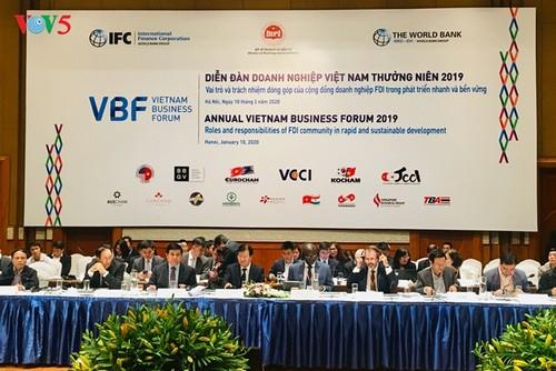 Chính phủ Việt Nam cam kết đồng hành, sát cánh cùng doanh nghiệp FDI - ảnh 1