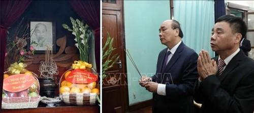 Thủ tướng Nguyễn Xuân Phúc dâng hương tưởng nhớ Chủ tịch Hồ Chí Minh tại Di tích Nhà 67 - ảnh 1