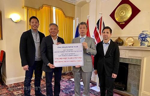 Dịch viêm đường hô hấp cấp COVID-19: Doanh nhân Việt kiều Anh  ủng hộ 1 tỷ đồng  giúp Việt Nam  - ảnh 1