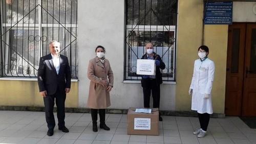 Công ty của người Việt tặng chính quyền Moldova 600 bộ xét nghiệm  - ảnh 1