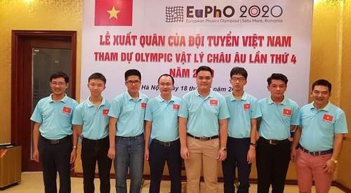 Học sinh Việt Nam đoạt Huy chương Vàng tại Kỳ thi Olympic Vật lý châu Âu năm 2020 - ảnh 1