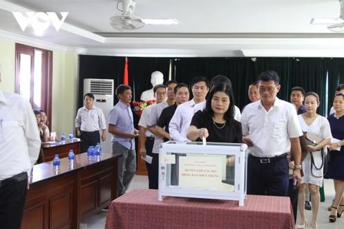 Cộng đồng người Việt Nam tại Lào ủng hộ đồng bào vùng lũ miền Trung - ảnh 1
