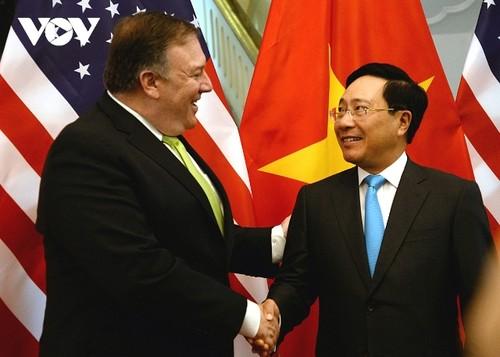 Bộ trưởng Ngoại giao Hoa Kỳ Mike Pompeo thăm chính thức Việt Nam - ảnh 1
