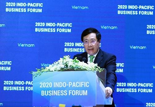 Nhiều thỏa thuận quan trọng được ký kết tại Diễn đàn doanh nghiệp Ấn Độ Dương - Thái Bình Dương 2020 - ảnh 1