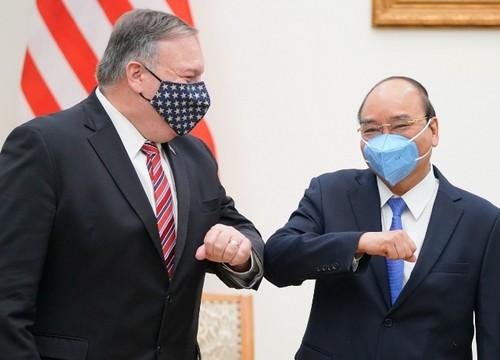 Thủ tướng Chính phủ Nguyễn Xuân Phúc tiếp Ngoại trưởng Hoa Kỳ Mike Pompeo - ảnh 1