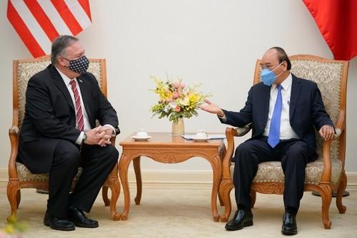 Thủ tướng Chính phủ Nguyễn Xuân Phúc tiếp Ngoại trưởng Hoa Kỳ Mike Pompeo - ảnh 2