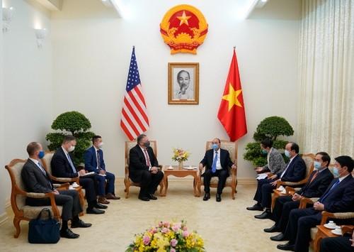 Thủ tướng Chính phủ Nguyễn Xuân Phúc tiếp Ngoại trưởng Hoa Kỳ Mike Pompeo - ảnh 3