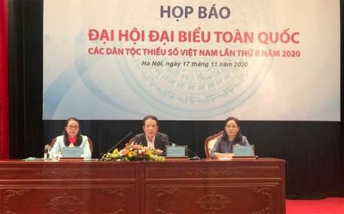 Đại hội đại biểu toàn quốc các dân tộc thiểu số lần thứ 2 diễn ra đầu tháng 12 - ảnh 1