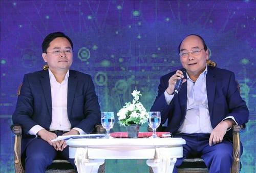 Thủ tướng Nguyễn Xuân Phúc dự Diễn đàn Thanh niên khởi nghiệp 2020 - ảnh 2