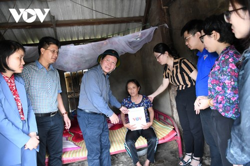 """Chương trình """"Thương về miền Trung"""": VOV đến với đồng bào vùng cao Quảng Nam- Quảng Ngãi - ảnh 1"""