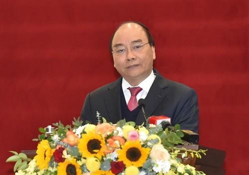 Thủ tướng Nguyễn Xuân Phúc chỉ đạo Tòa án Nhân dân tối cao triển khai nhiệm vụ năm 2021 - ảnh 1