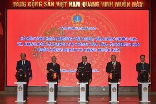 Thủ tướng Nguyễn Xuân Phúc chỉ đạo Tòa án Nhân dân tối cao triển khai nhiệm vụ năm 2021 - ảnh 2