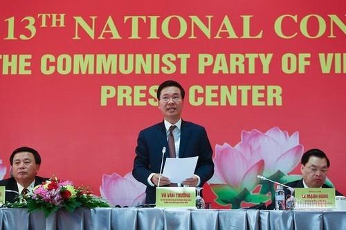 Họp báo quốc tế về Đại hội toàn quốc lần thứ XIII của Đảng cộng sản Việt Nam - ảnh 1