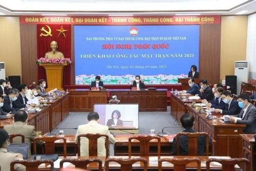 Nhiệm vụ hàng đầu của Mặt trận là tổ chức hiệp thương, giới thiệu người ứng cử Đại biểu Quốc hội và Hội đồng Nhân dân - ảnh 1