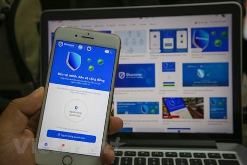 Dịch COVID-19: Đã có hơn 30 triệu lượt tải ứng dụng Bluezone  - ảnh 1