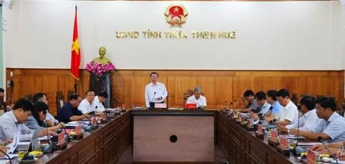 Phó Chủ tịch Quốc hội Phùng Quốc Hiển kiểm tra công tác bầu cử tại tỉnh Thừa Thiên Huế - ảnh 1