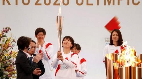 Nhật Bản: khai mạc Lễ rước đuốc Olympic Tokyo - ảnh 1