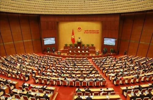 Quốc hội thảo luận về hoạt động của Quốc hội nhiệm kỳ khóa XIV - ảnh 1