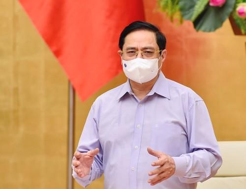 Thủ tướng Chính phủ Phạm Minh Chính: Chống dịch như chống giặc - ảnh 1