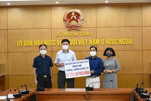 Người Việt tại Cộng hòa Séc ủng hộ Quỹ Vaccine phòng chống Covid-19 - ảnh 1