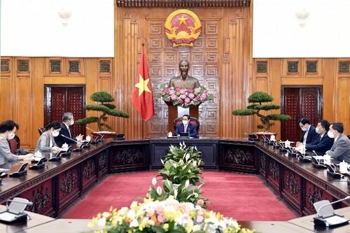 Thủ tướng Chính phủ Phạm Minh Chính tiếp Đại sứ Nhật Bản tại Việt Nam Yamada Takio - ảnh 2