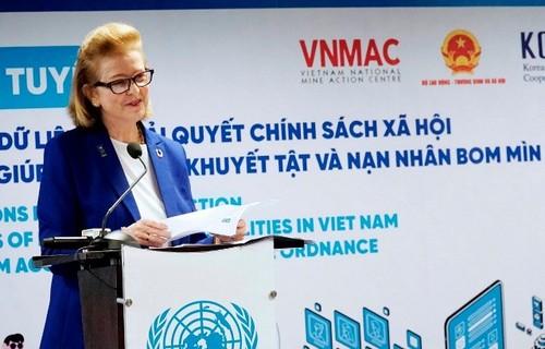 Ra mắt ứng dụng quản lý thông tin người khuyết tật ở Việt Nam - ảnh 1
