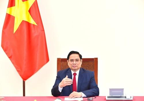 Thủ tướng Phạm Minh Chính đề nghị WHO hỗ trợ Việt Nam trở thành trung tâm sản xuất vaccine - ảnh 1