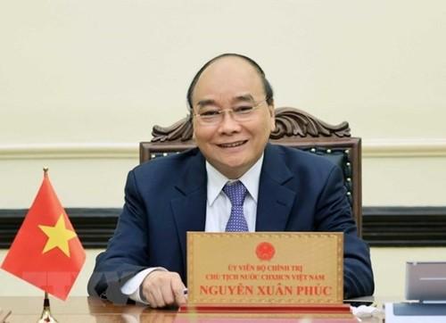 Chủ tịch nước Nguyễn Xuân Phúc chủ trì Phiên họp thứ ba Hội đồng Quốc phòng và An ninh nhiệm kỳ 2016 – 2021 - ảnh 1