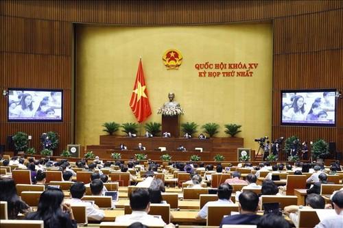 Quốc hội thông qua Nghị quyết kế hoạch phát triển kinh tế - xã hội 5 năm 2021-2026 - ảnh 1