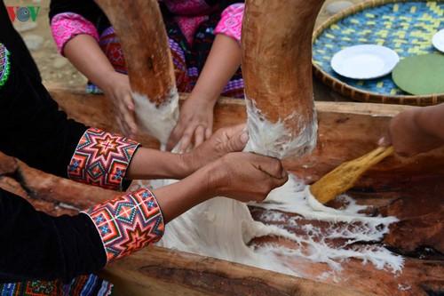 Bánh giầy trong đời sống đồng bào Mông Tây Bắc - ảnh 11
