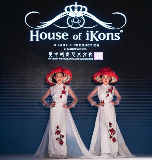 """Áo dài Việt Nam """"đốn tim """" khán giả thời trang London  - ảnh 6"""