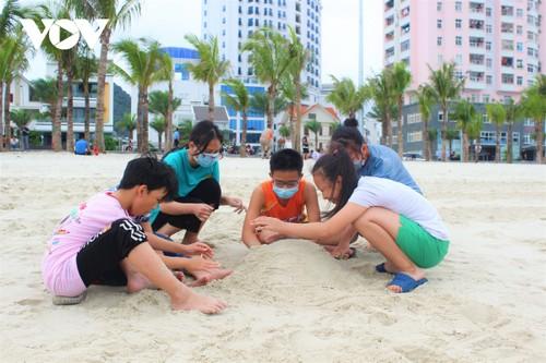 Bãi tắm mới trên đường bao biển Hạ Long sẽ khai trương dịp nghỉ lễ 30/4 - ảnh 8