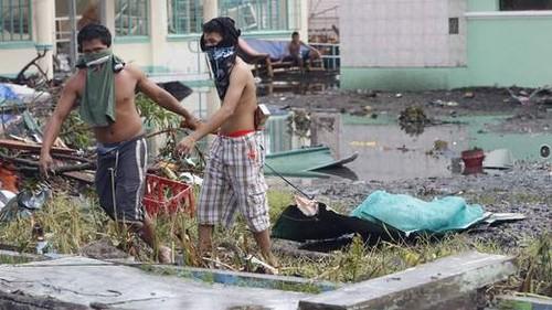 Filipinas se esfuerza en superar secuelas de Haiyan con ayuda internacional - ảnh 1