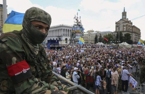 Poroshenko entierra la tregua y anuncia un ataque en el este de Ucrania - ảnh 1