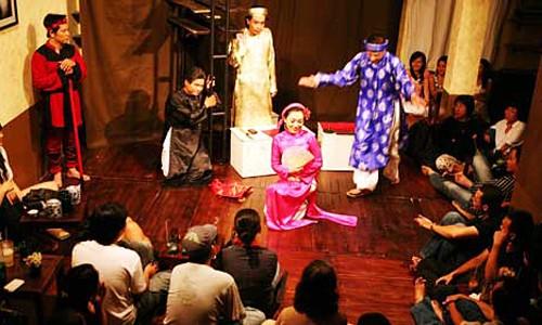 Café-teatro: un entretenido acercamiento al público - ảnh 1