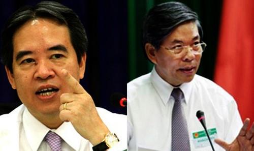 Parlamento vietnamita interpela a dirigentes de sectores ambiental y bancario - ảnh 1