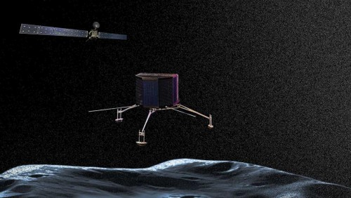Robot espacial Philae aterriza en cometa en búsqueda de origen de la  vida - ảnh 1