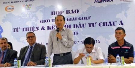 Concurso de Golf caritativo y de conexión inversionista de Asia 2015 - ảnh 1