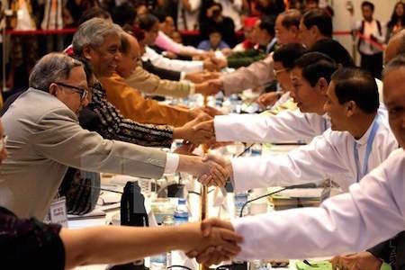 Myanmar acelera elaboración de marco de diálogos según proceso de paz   - ảnh 1
