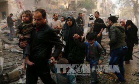 Rusia y Estados Unidos tratan el cese al fuego en Siria - ảnh 1