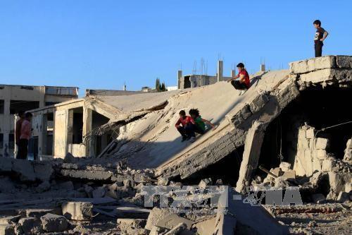 Ejército sirio anuncia suspensión de sus operaciones militares durante 7 días - ảnh 1